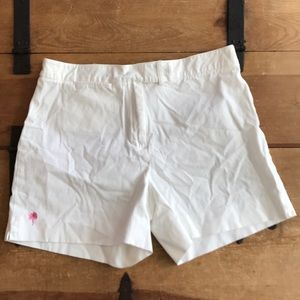 Lilly Pulitzer Womens White Shorts